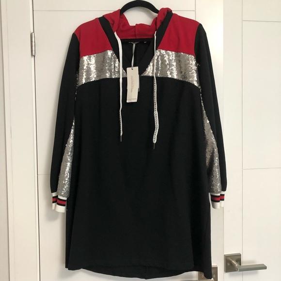 RINASCIMENTO/Ladies/Black & Red /Dress/NWT